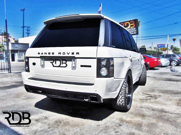 Range Rover s novým vzhledem od RDB 6