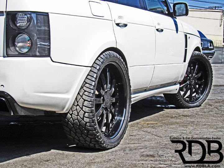 Range Rover s novým vzhledem od RDB 7