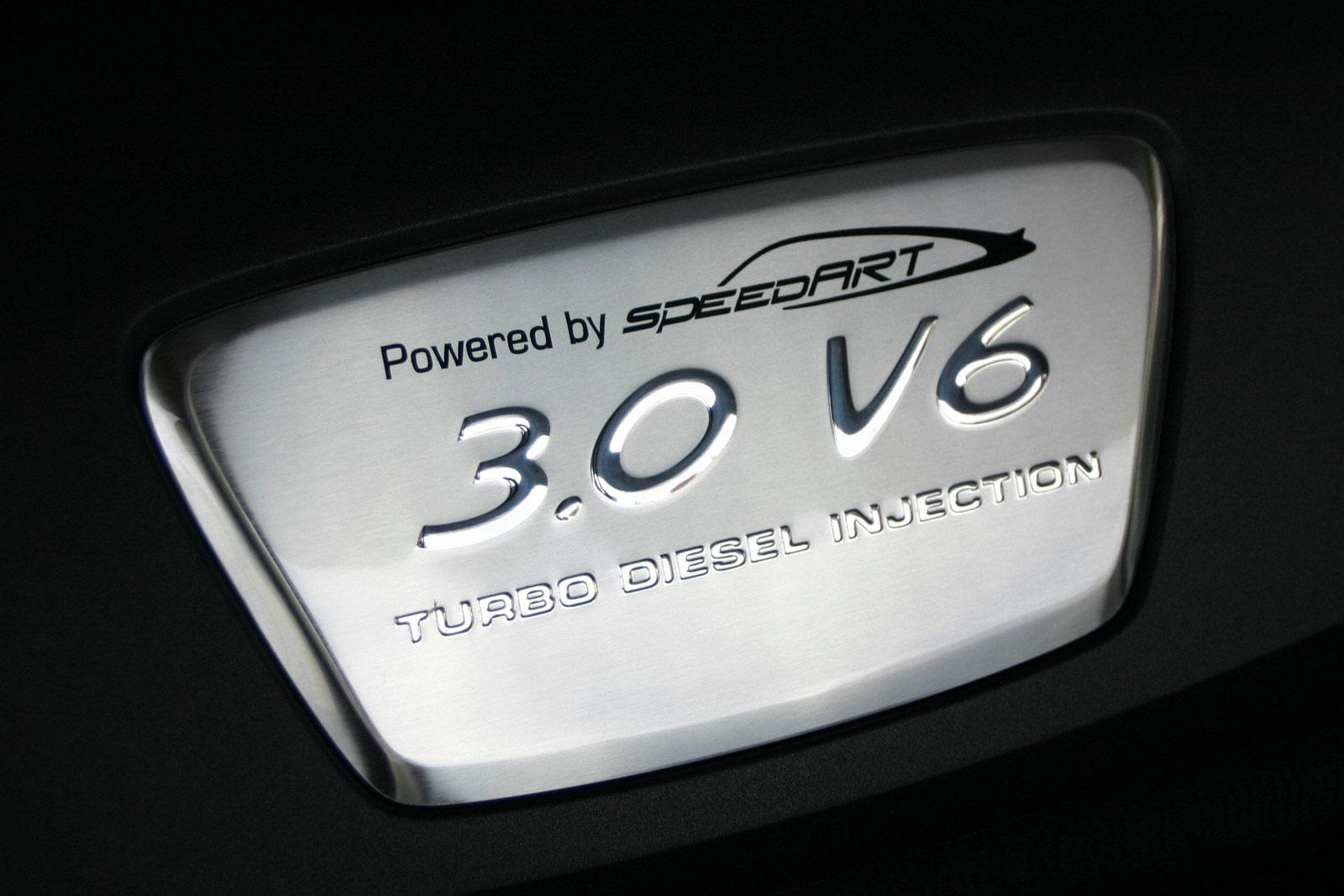 SpeedArt PS9-300D vyšperkovaný nafťák 5