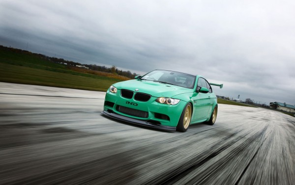 Zelený ďábel Green Hell BMW M3 Coupe 1