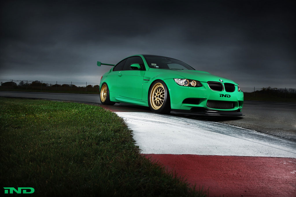 Zelený ďábel Green Hell BMW M3 Coupe 4
