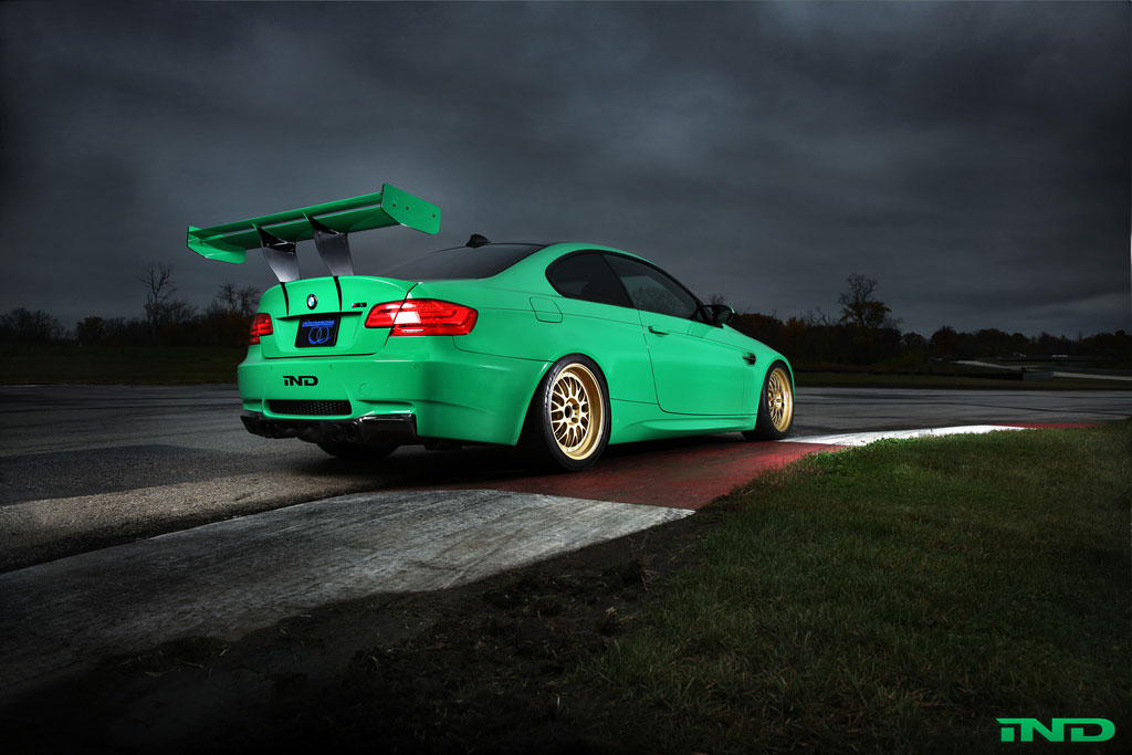 Zelený ďábel Green Hell BMW M3 Coupe 5