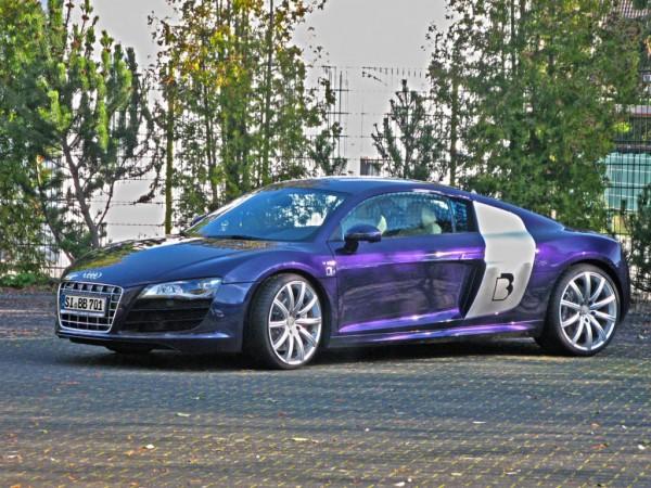 Audi R8 od B&B Automobiletechnik má výkon 610 koní 1