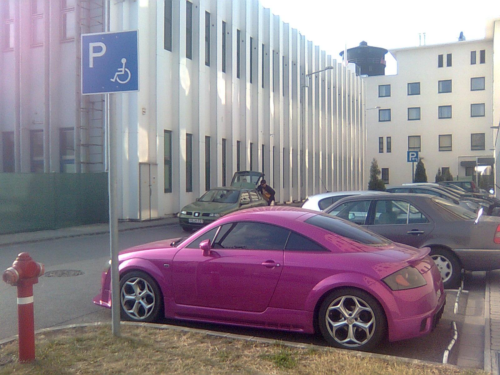 Audi TT po maďarsku 2