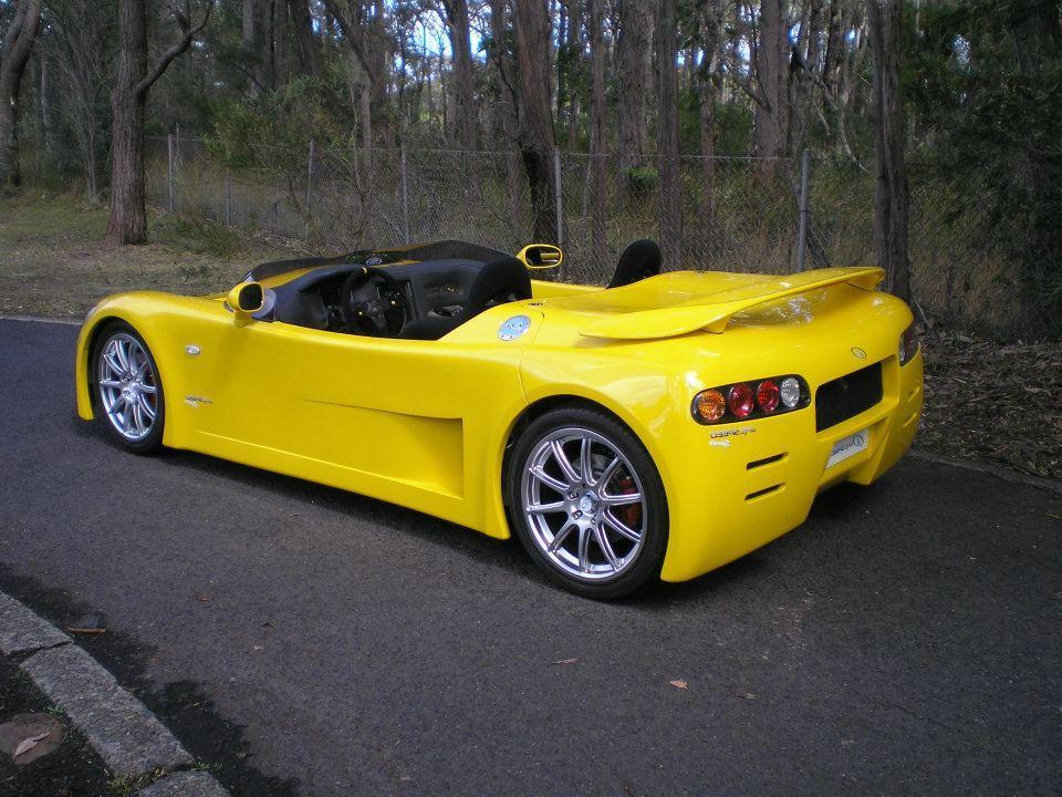 Australaský elektromobil Arcspeed 3