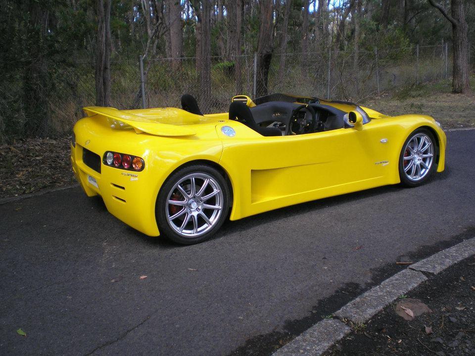 Australaský elektromobil Arcspeed 4