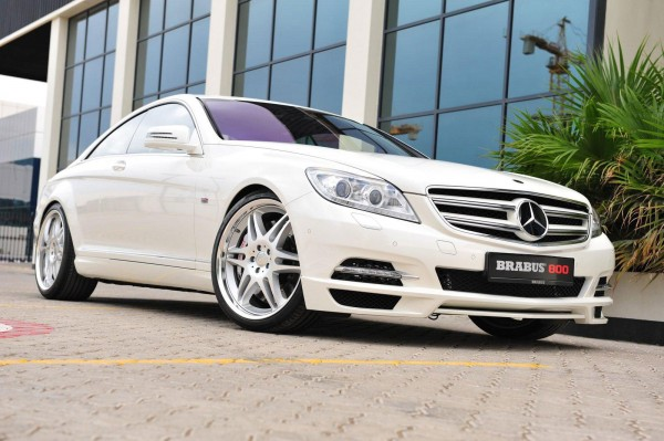 Brabus vyšperkoval Mercedes-Benz CL 600 1