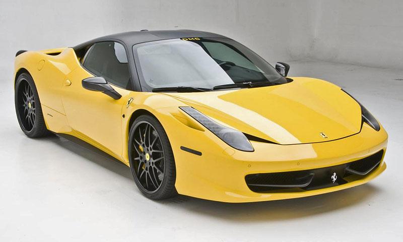 Decentně upravené Ferrari 458 Italia Milano od DMC 3