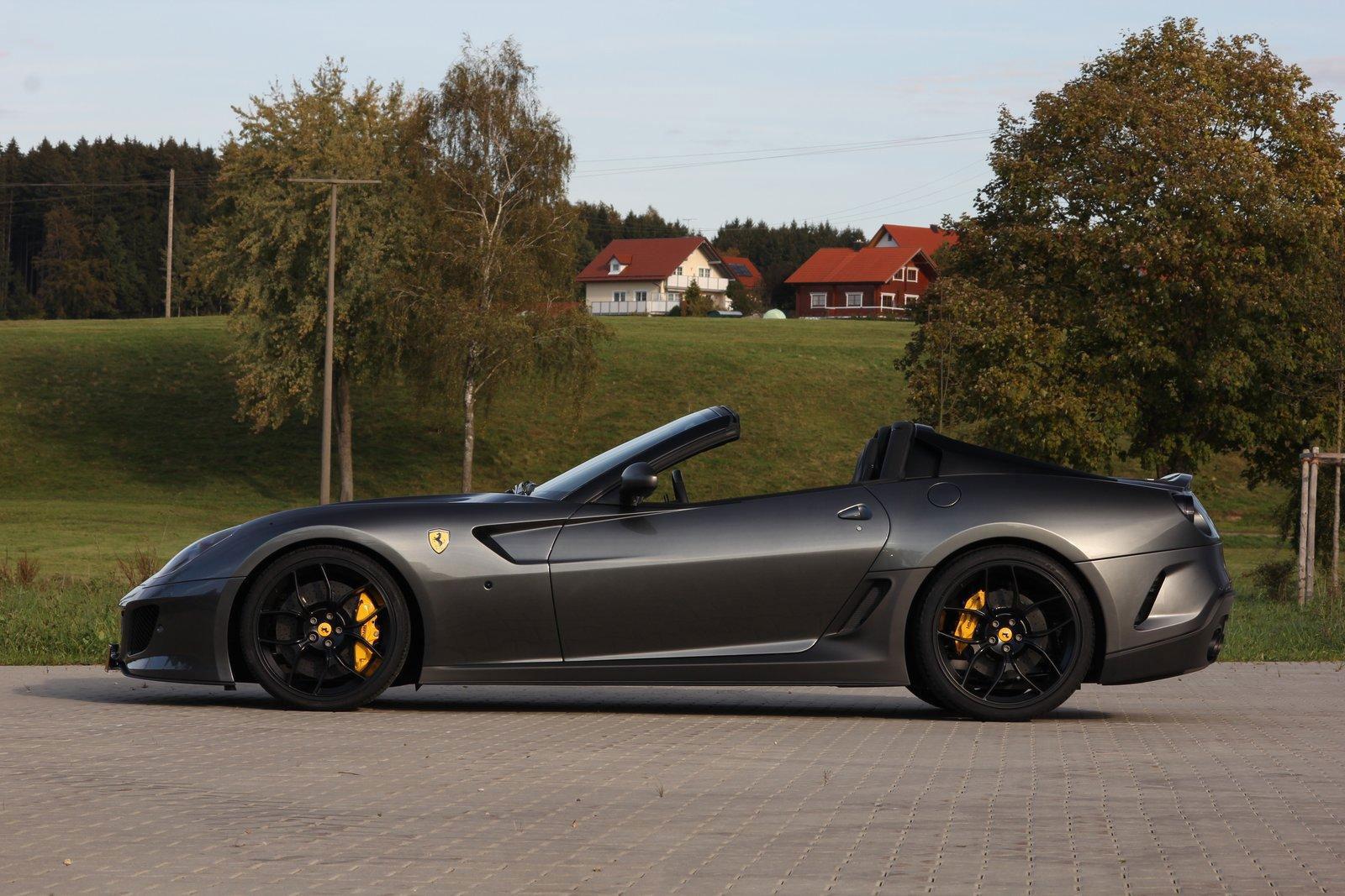 Ferrari 599 SA Aperta dostalo 888 koní od Novitec Rosso 7