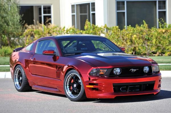 Ford Mustang po kalifornsku 1