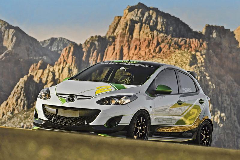 Mazda Turbo2 prcek s výkon 260 koní 2