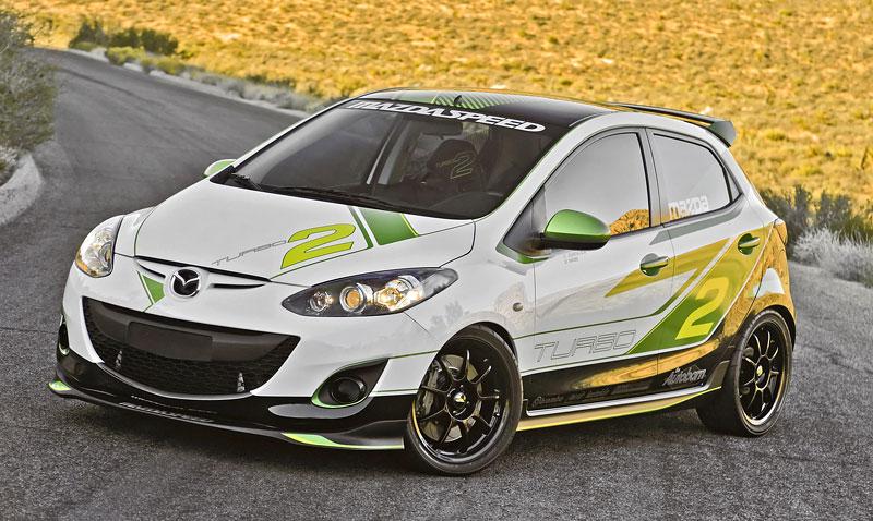 Mazda Turbo2 prcek s výkon 260 koní 3