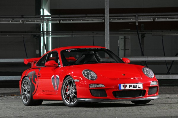 Porsche 911 GT3 vylaďěno od REIL Performance 1