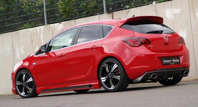 Senner vytvořil povedenou úpravu pro Opel Astra 1