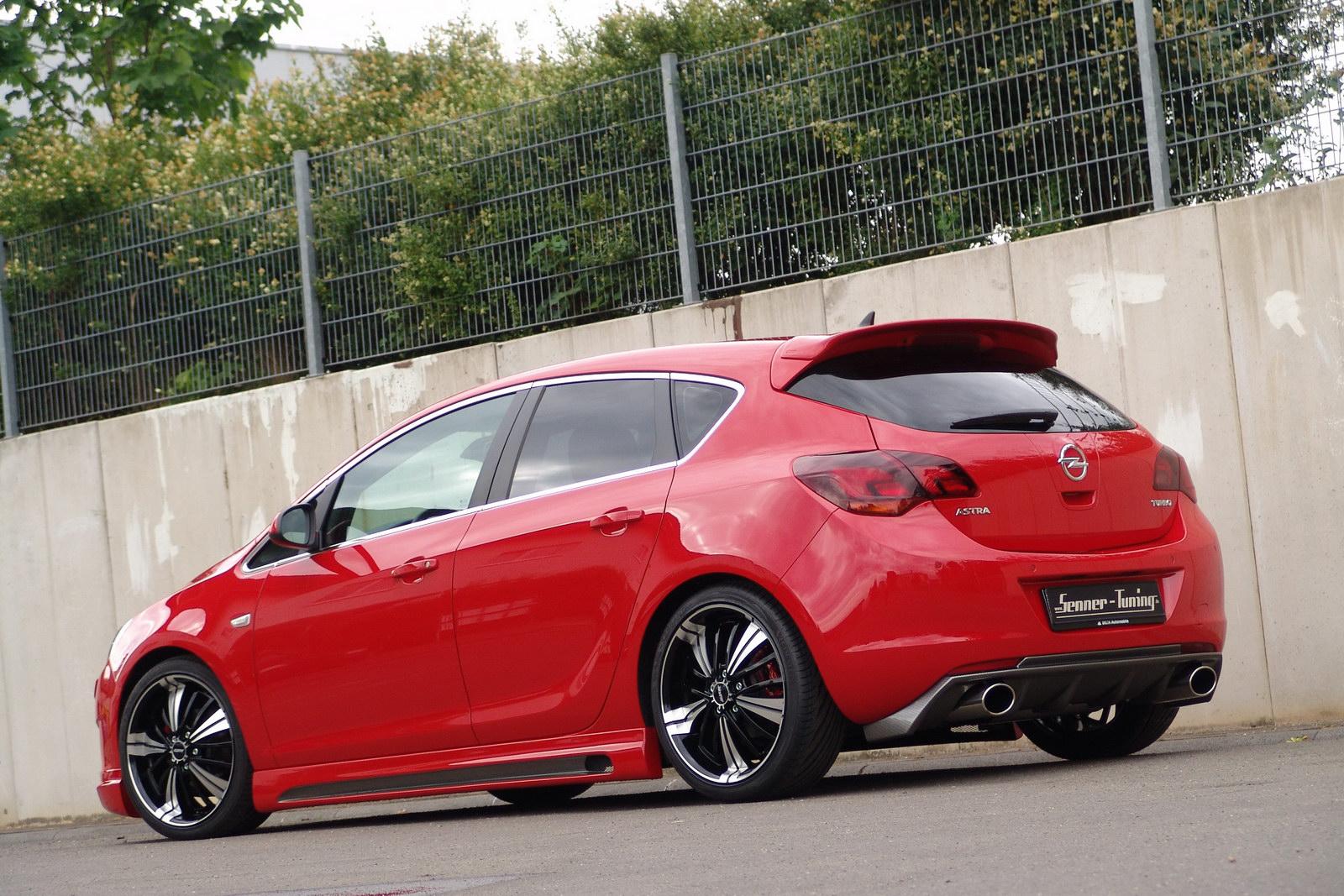 Senner vytvořil povedenou úpravu pro Opel Astra 4