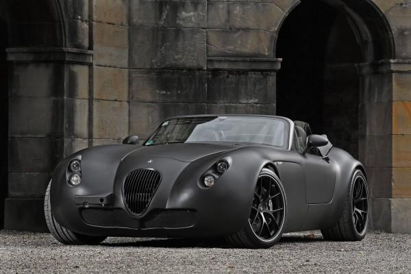 Temný Wiesmann Roadster z Německa 1
