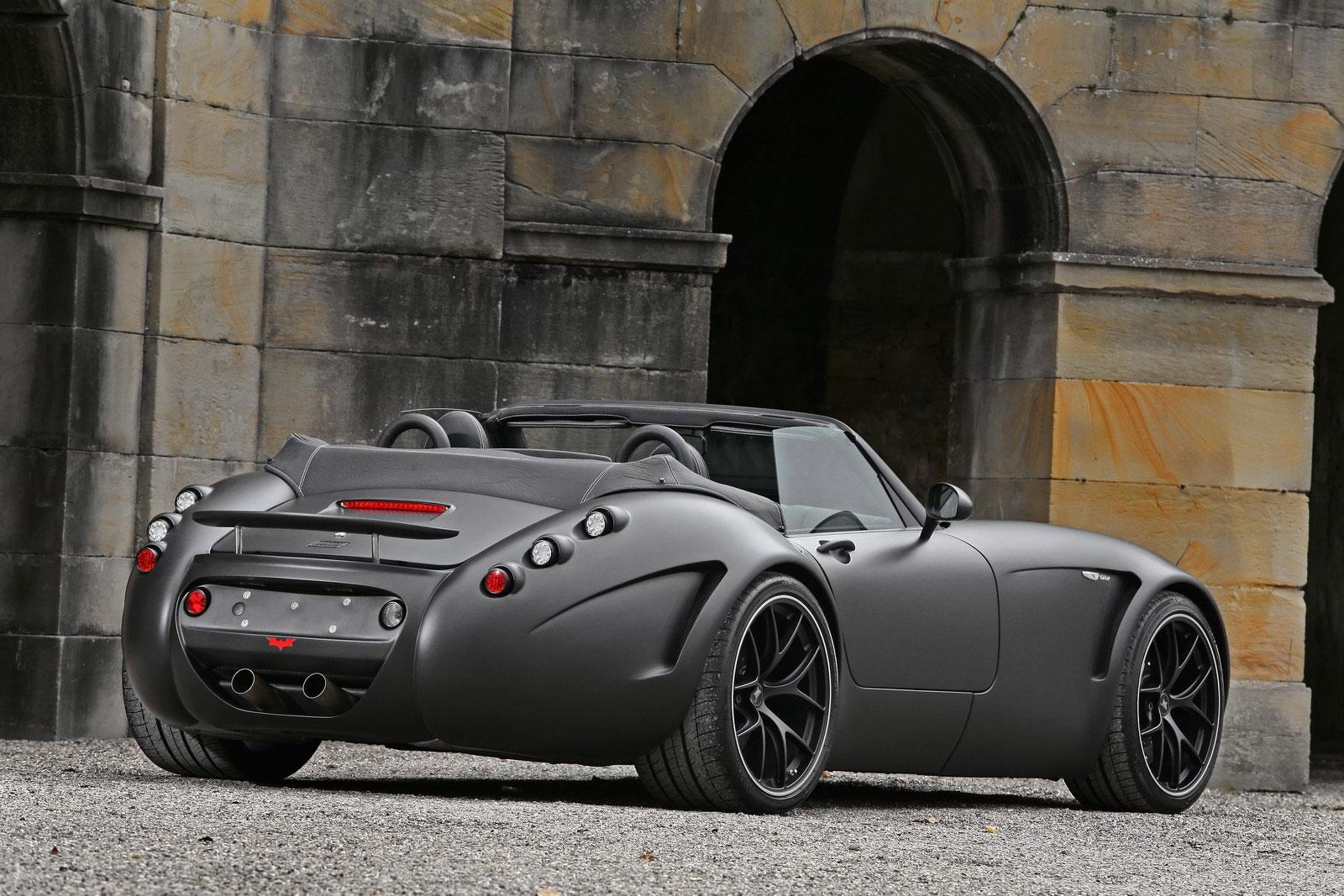 Temný Wiesmann Roadster z Německa 2