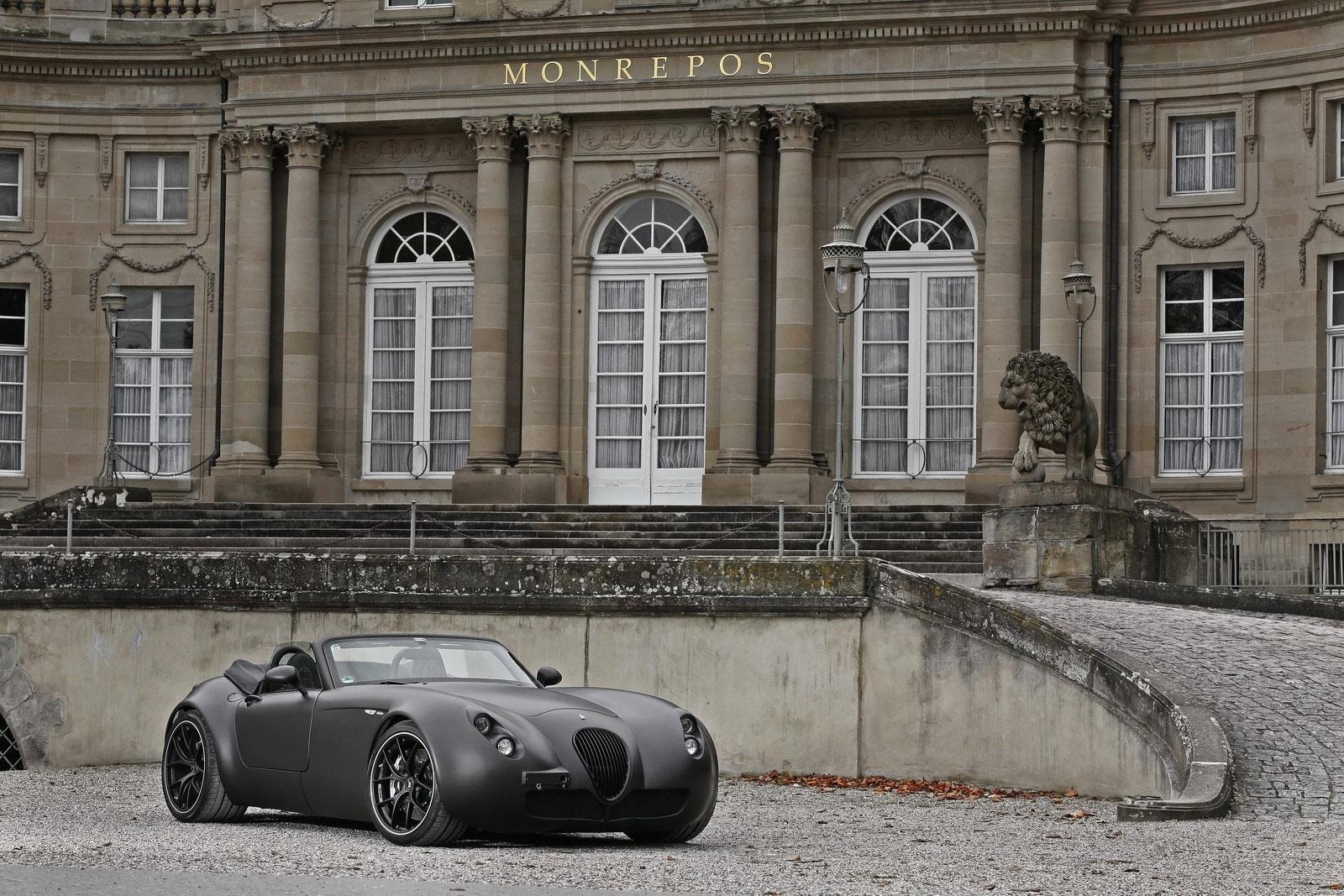 Temný Wiesmann Roadster z Německa 6