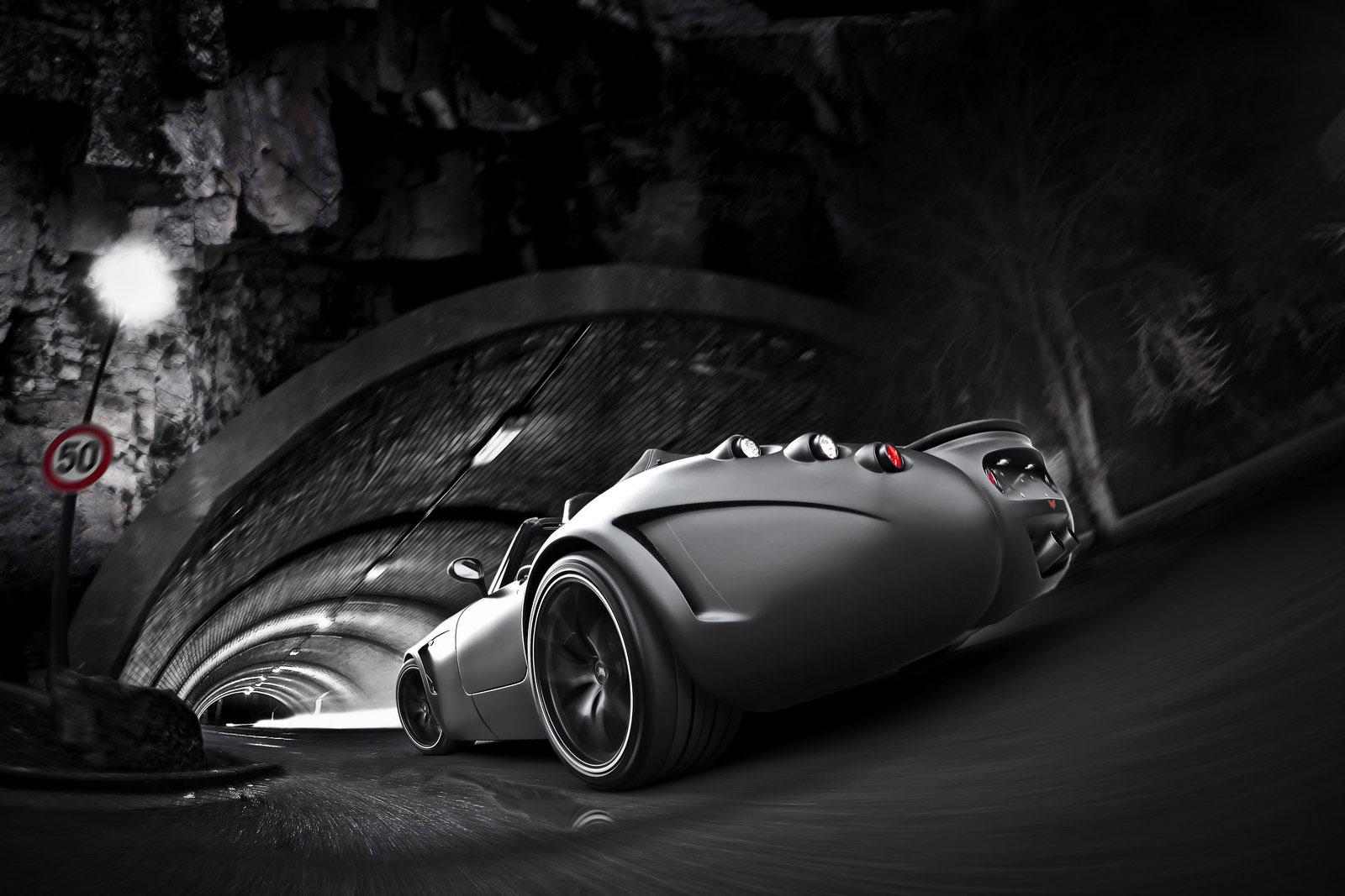 Temný Wiesmann Roadster z Německa 8