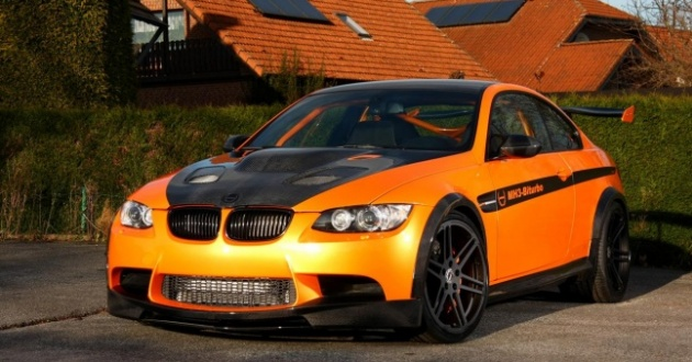 BMW M3 jako MH3 V8 RS Clubsport prožene všechny supersporty 1