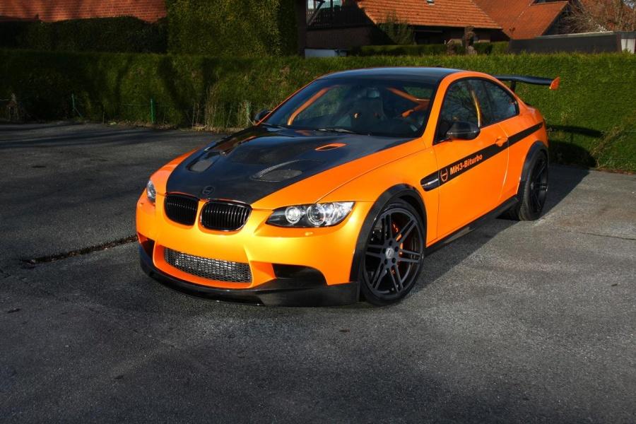 BMW M3 jako MH3 V8 RS Clubsport prožene všechny supersporty 2