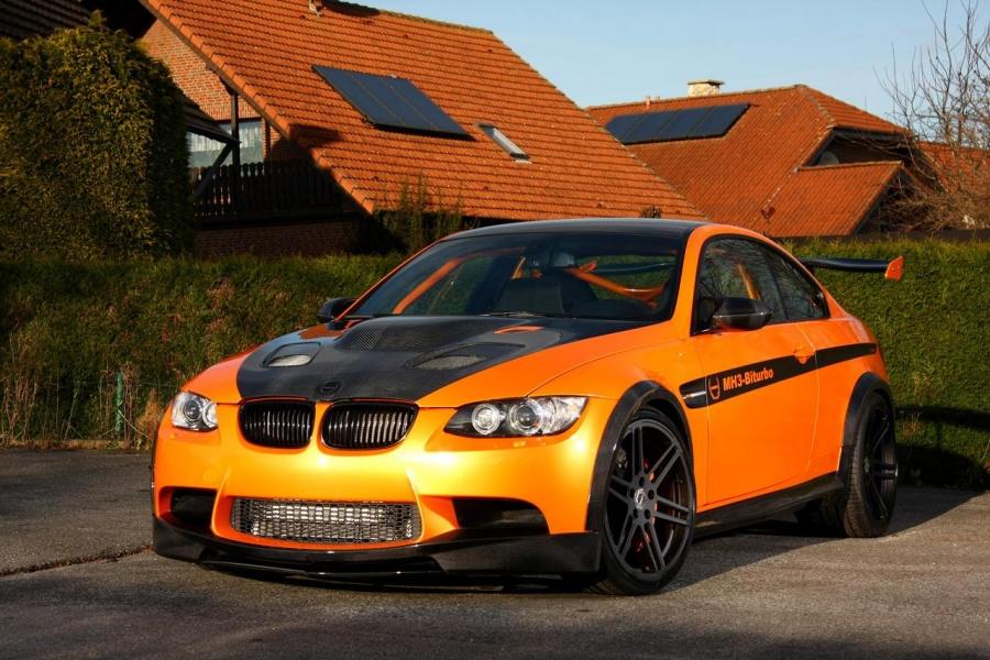 BMW M3 jako MH3 V8 RS Clubsport prožene všechny supersporty 4