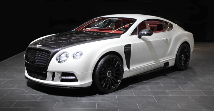Bentley Continental GT dokonale upraven od Mansory 1