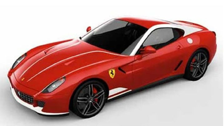 Ferrari 599 GTB 60F1 oslavuje 60 let výher v F1 1