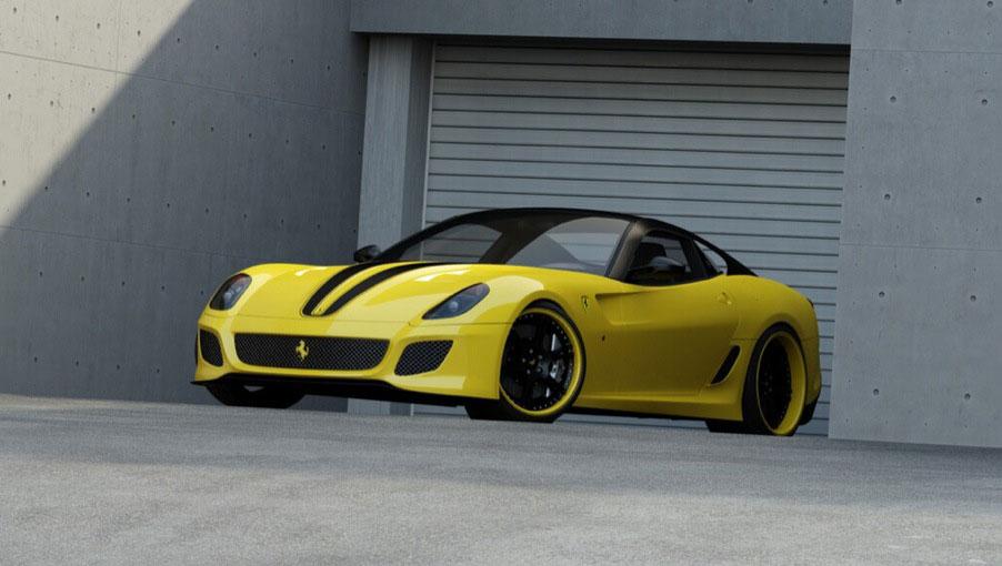 Ferrari 599 GTO s výkonem 715 koní od Wheelsandmore 3
