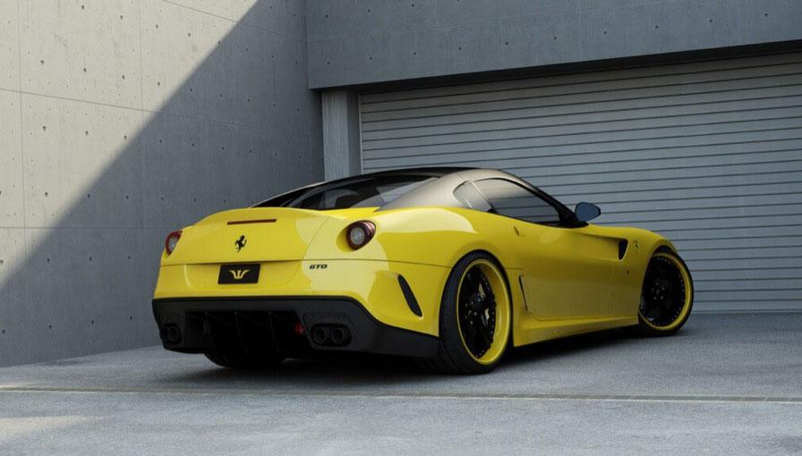 Ferrari 599 GTO s výkonem 715 koní od Wheelsandmore 4