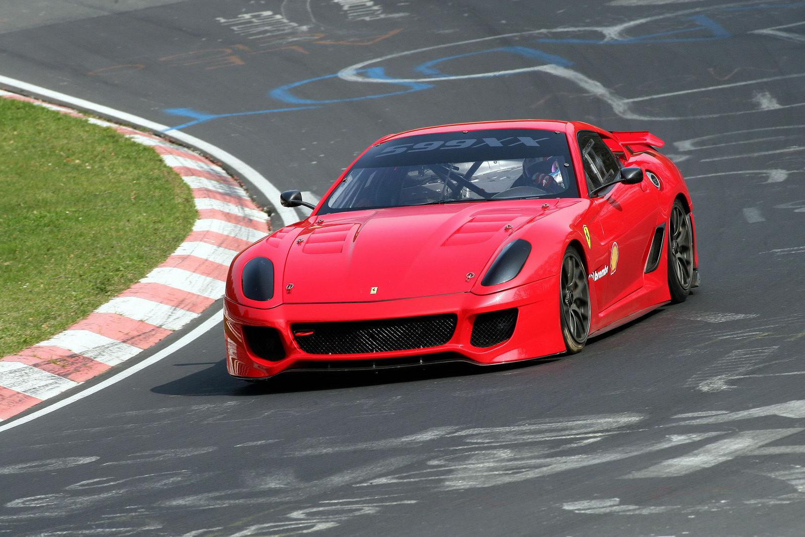 Ferrari 599XX ještě lepší s paketem Evoluzione 5