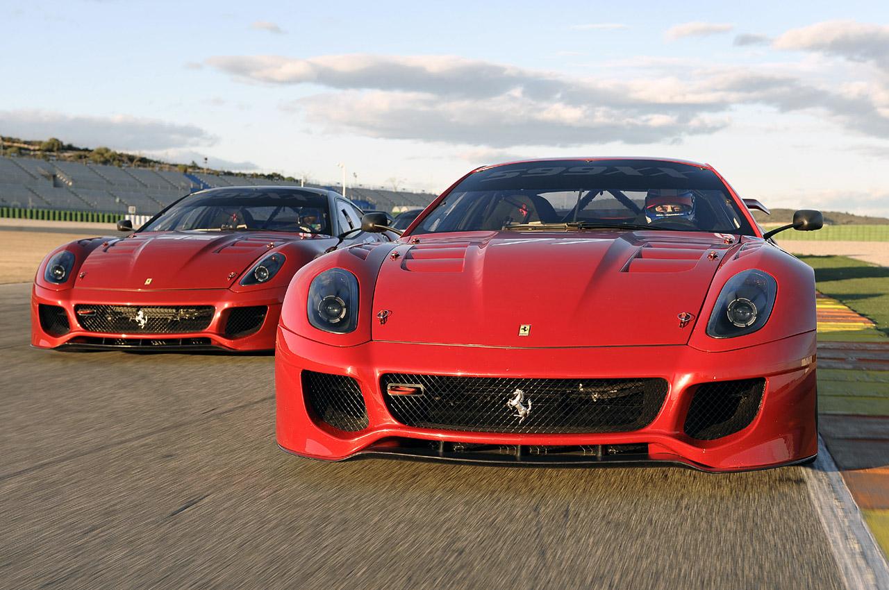 Ferrari 599XX ještě lepší s paketem Evoluzione 7