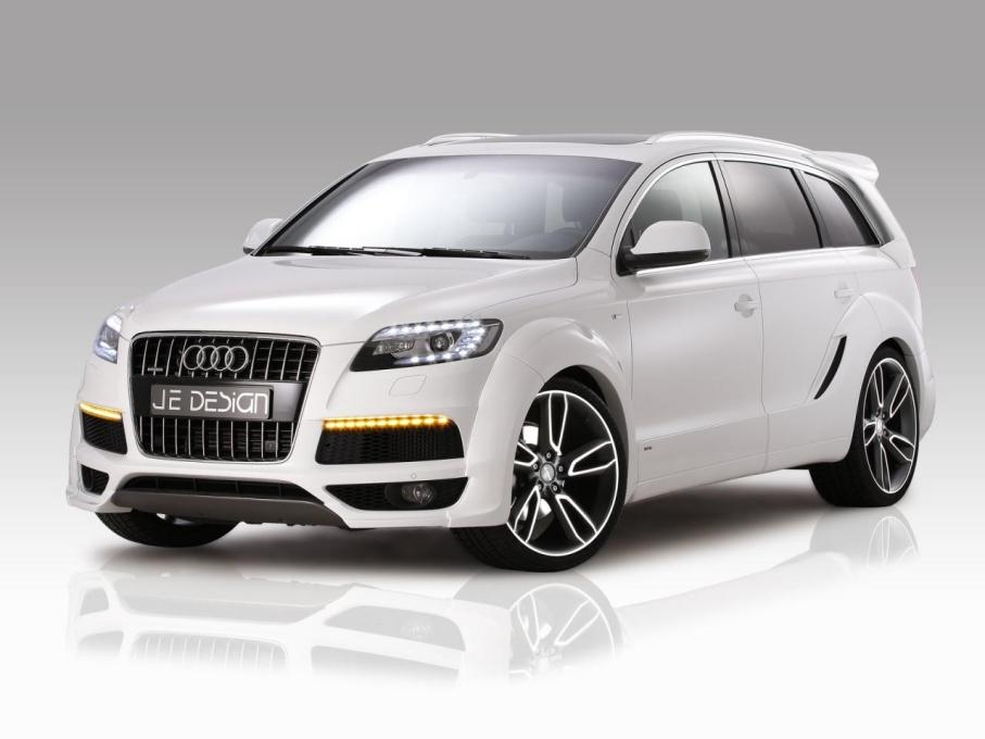 JE Design provedl povedenou úpravu Audi Q7 1
