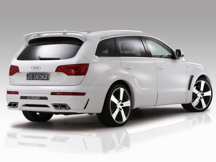 JE Design provedl povedenou úpravu Audi Q7 4
