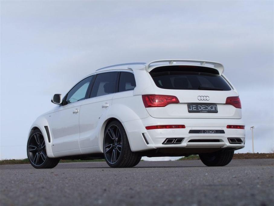 JE Design provedl povedenou úpravu Audi Q7 6