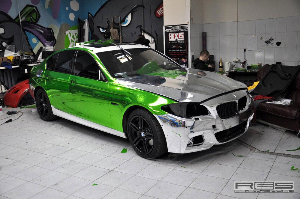 Jedinečné BMW 5 z Ruska 2