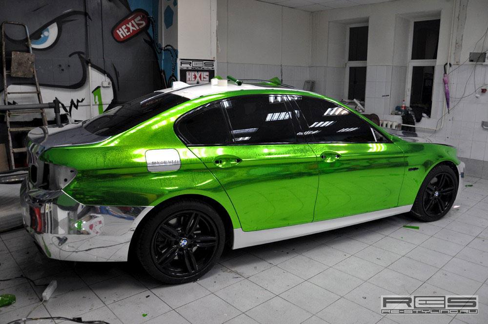 Jedinečné BMW 5 z Ruska 3