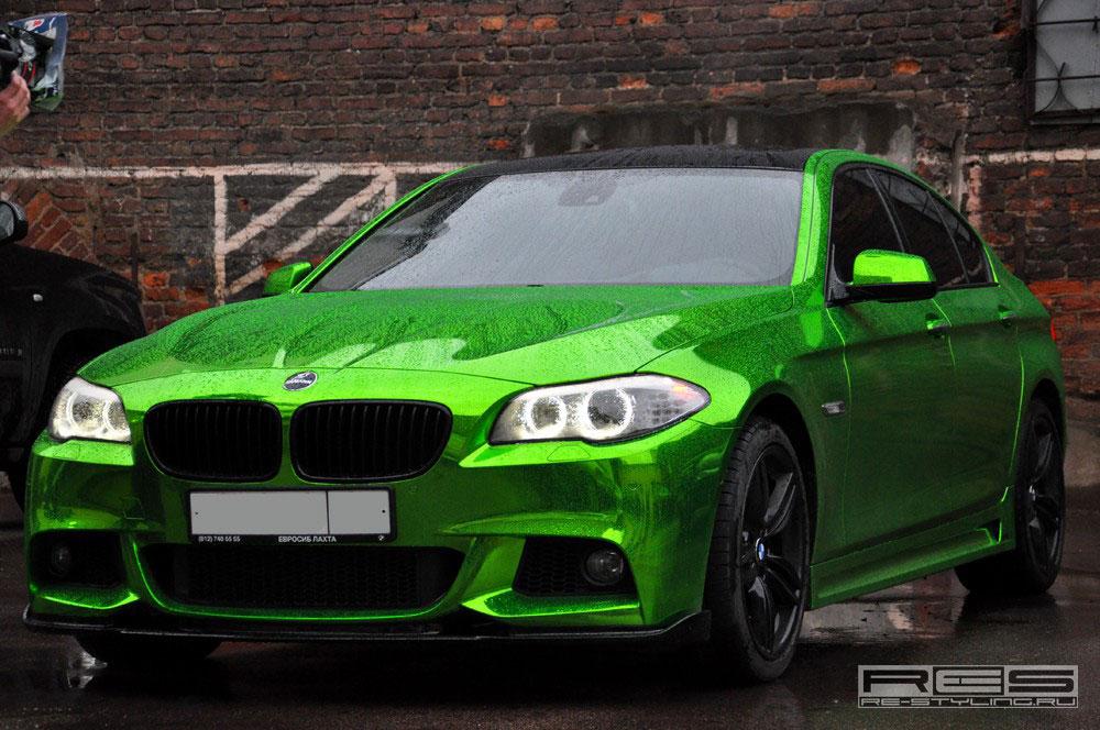 Jedinečné BMW 5 z Ruska 5