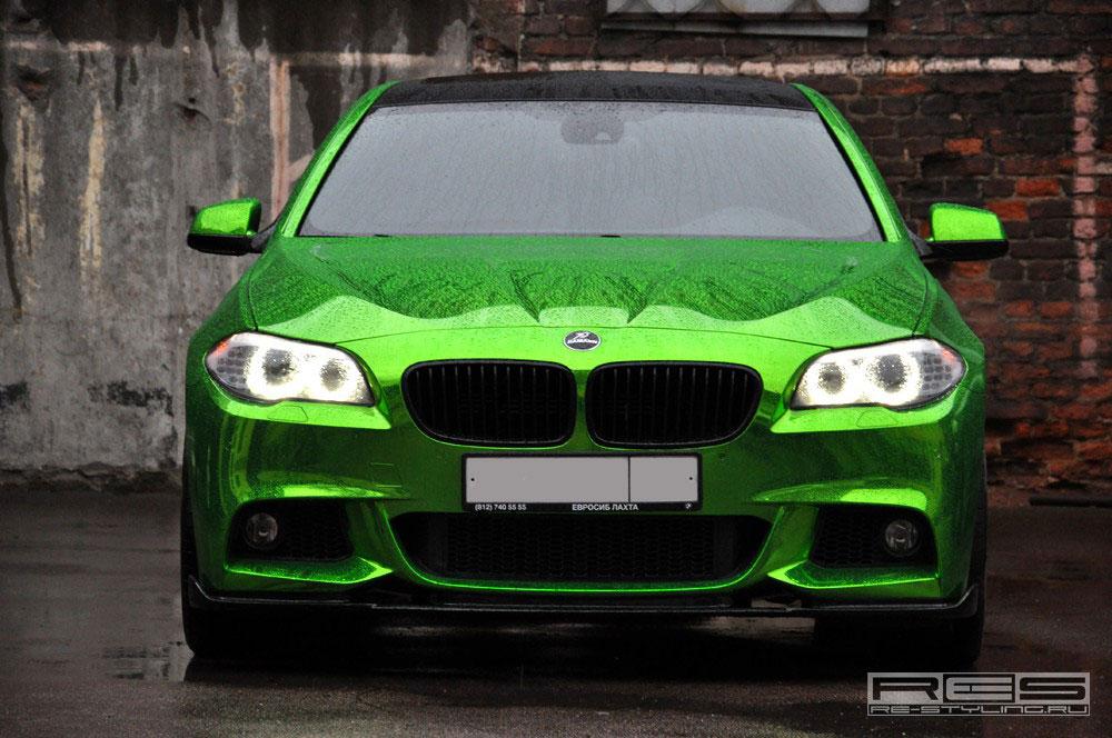 Jedinečné BMW 5 z Ruska 6