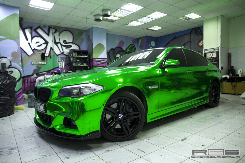 Jedinečné BMW 5 z Ruska 8