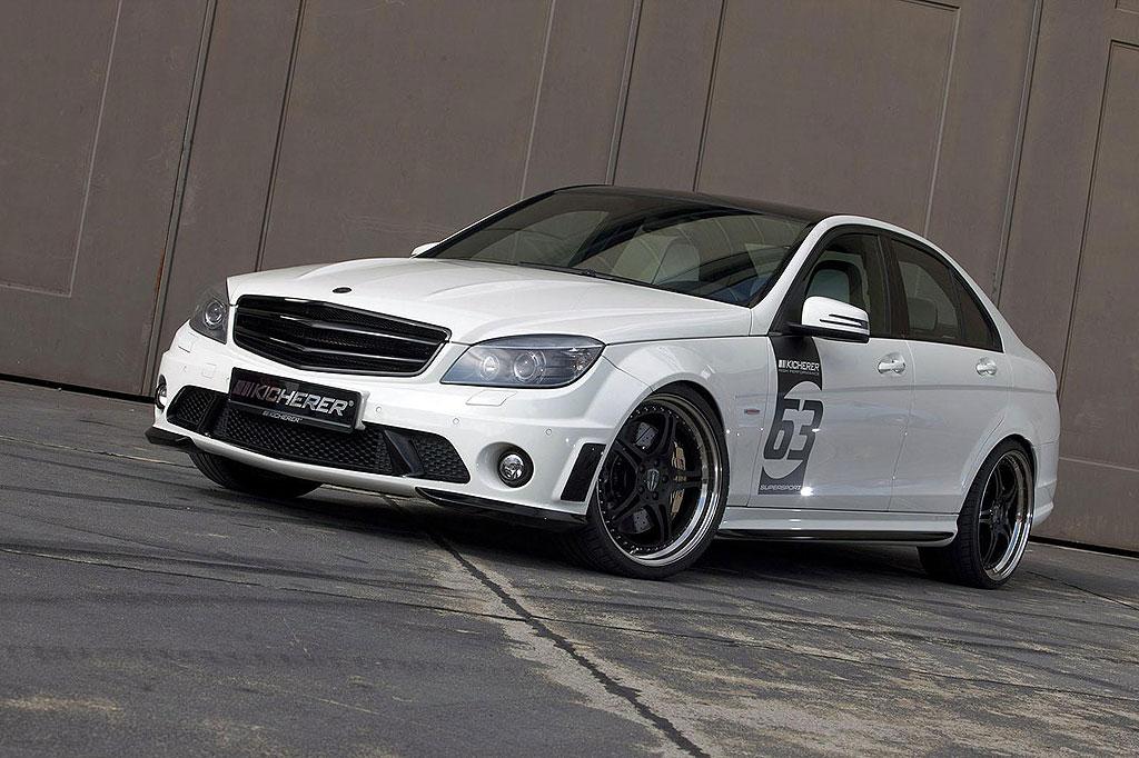 Kicherer uvedl Mercedes-Benz C63 AMG White Edition 4