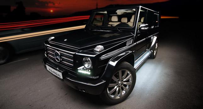 Legendární Mercedes-Benz G vylepšil bulharský úpravce Vilner 1