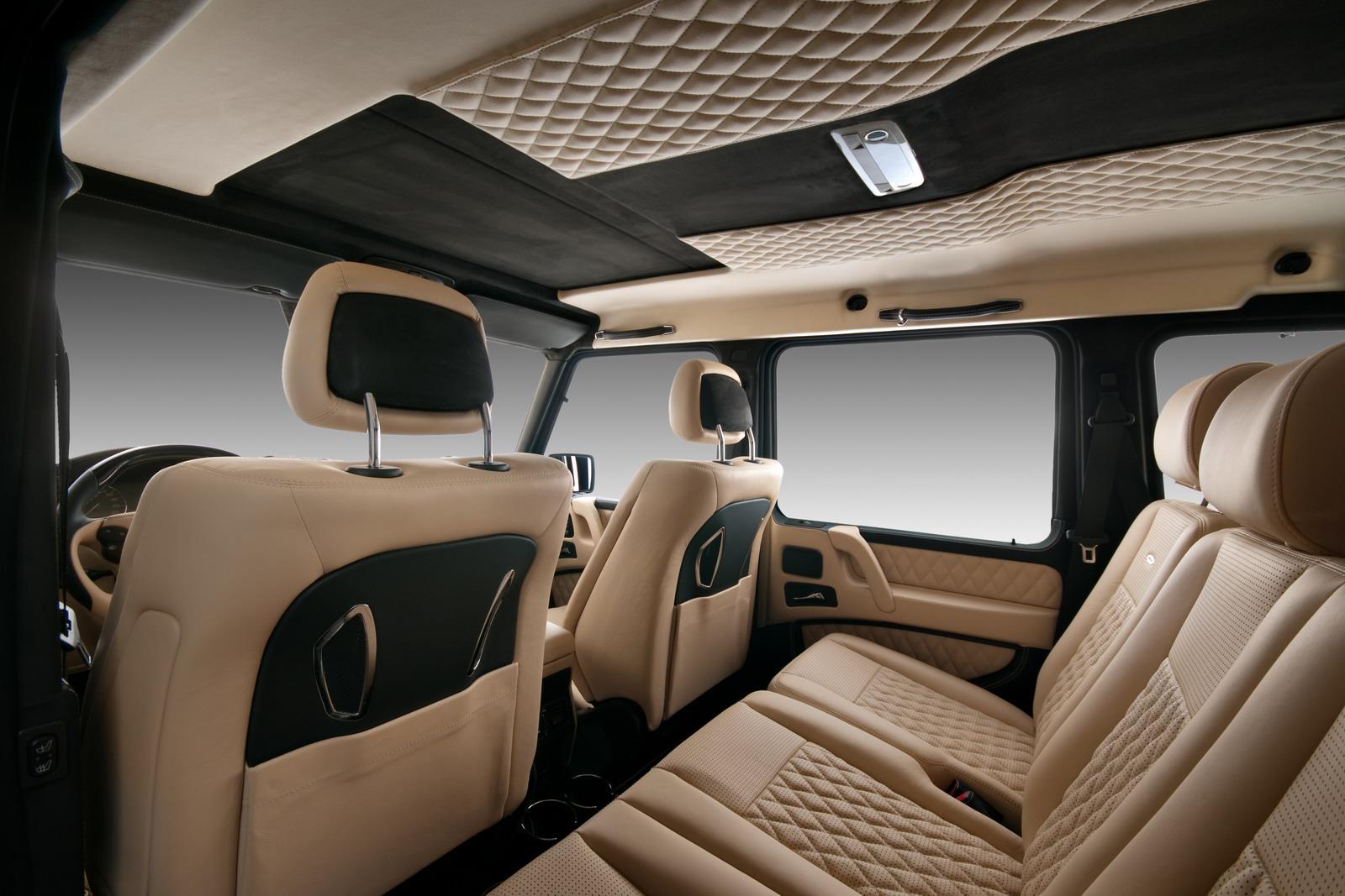 Legendární Mercedes-Benz G vylepšil bulharský úpravce Vilner 5