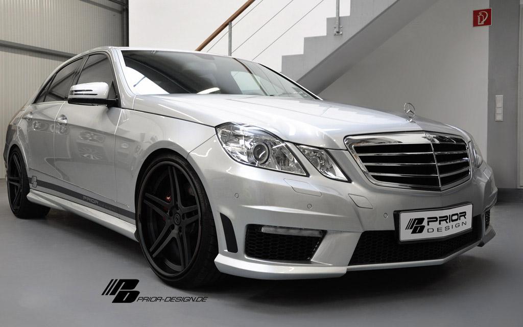 Mercedes E dostal od Prior Design nový vzhled 1