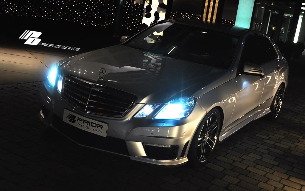 Mercedes E dostal od Prior Design nový vzhled 10