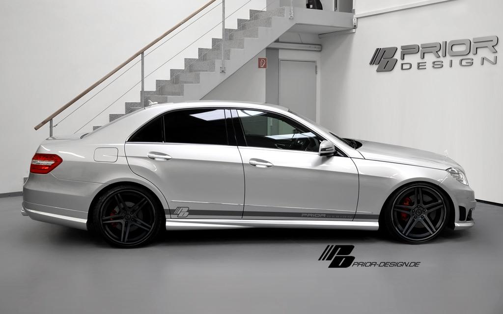 Mercedes E dostal od Prior Design nový vzhled 2