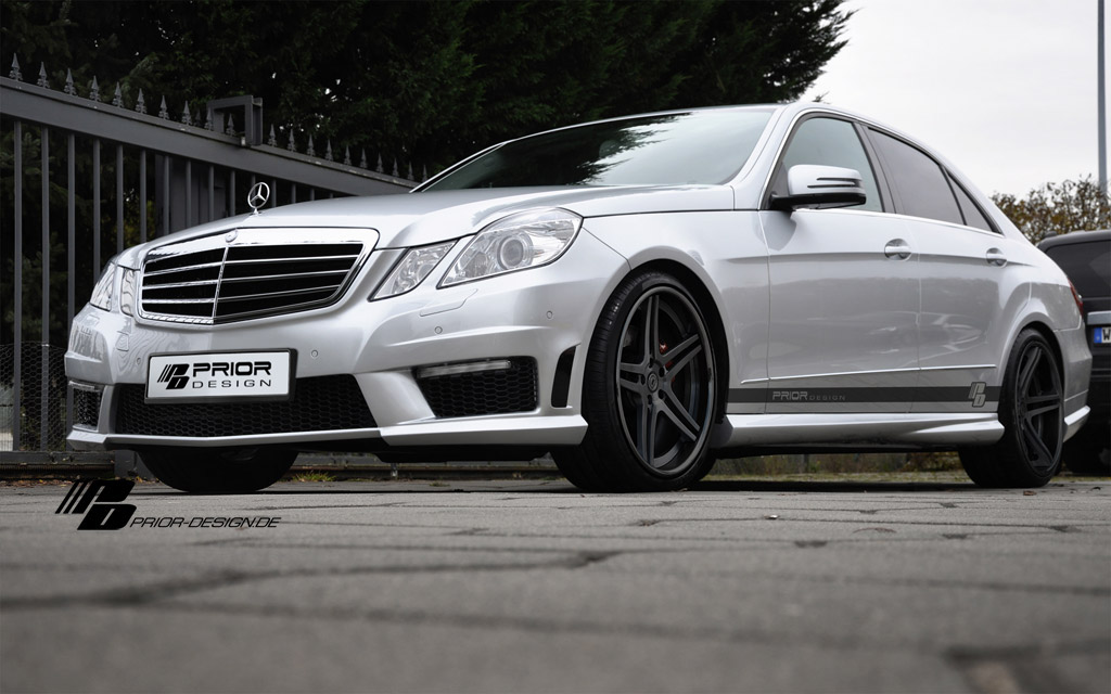 Mercedes E dostal od Prior Design nový vzhled 4