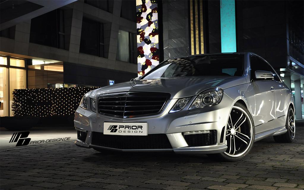 Mercedes E dostal od Prior Design nový vzhled 5
