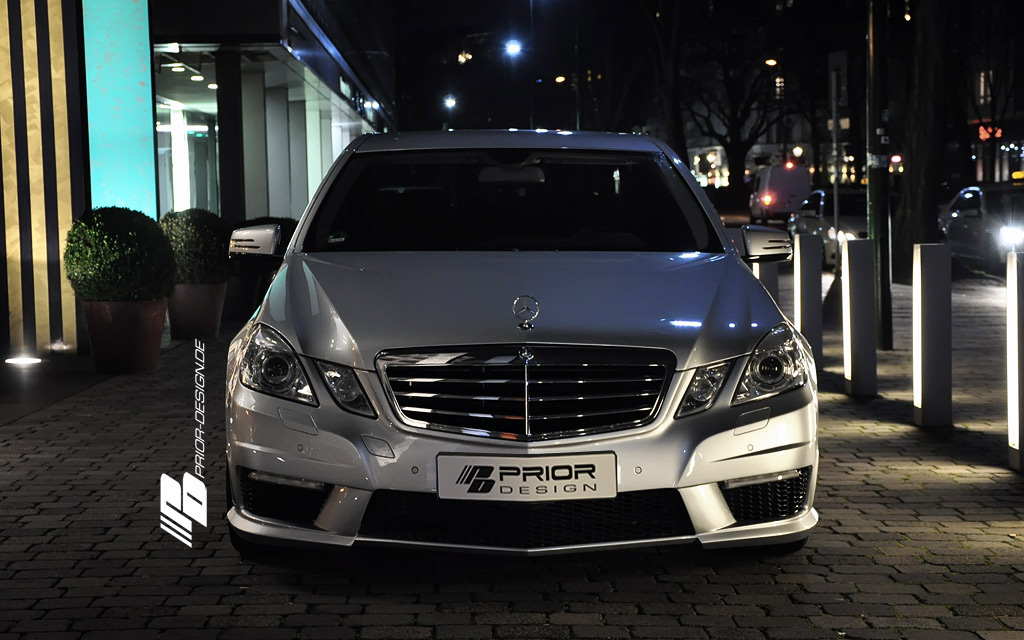 Mercedes E dostal od Prior Design nový vzhled 6