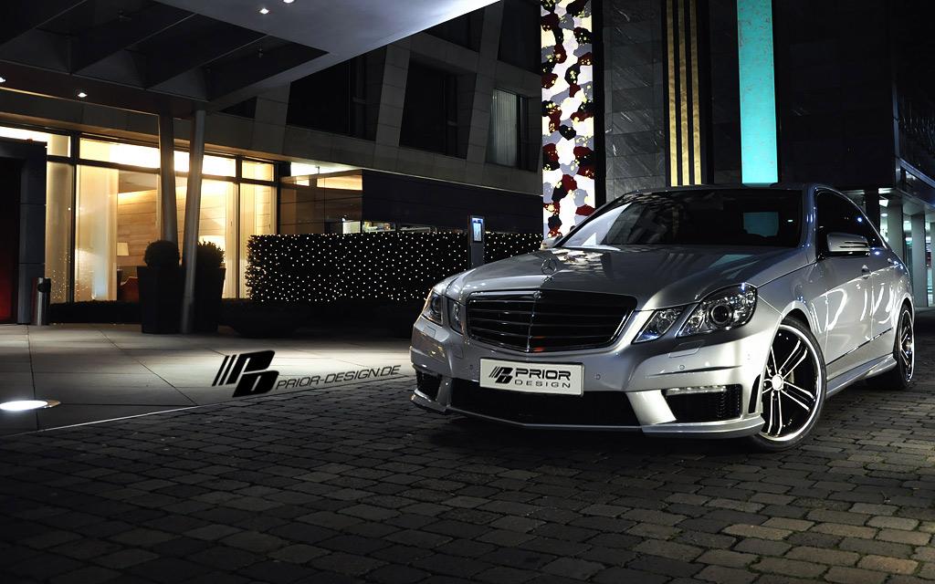 Mercedes E dostal od Prior Design nový vzhled 7